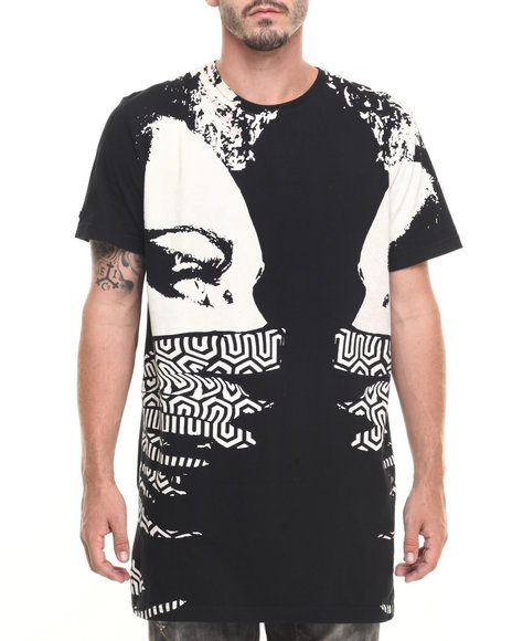 Akoo - Men Black Showdown Knit Tee