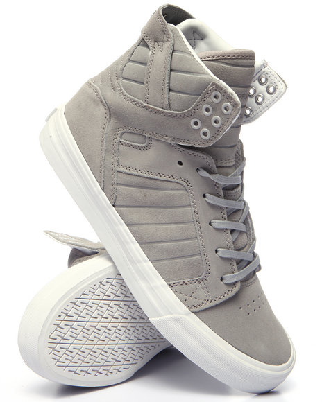 Supra - Men Light Grey Skytop Hf Sneakers