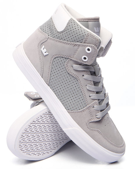 Supra - Men Light Grey Vaider Sneakers