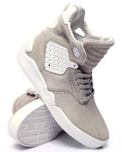 Supra - Men Light Grey Skytop Iv Sneakers