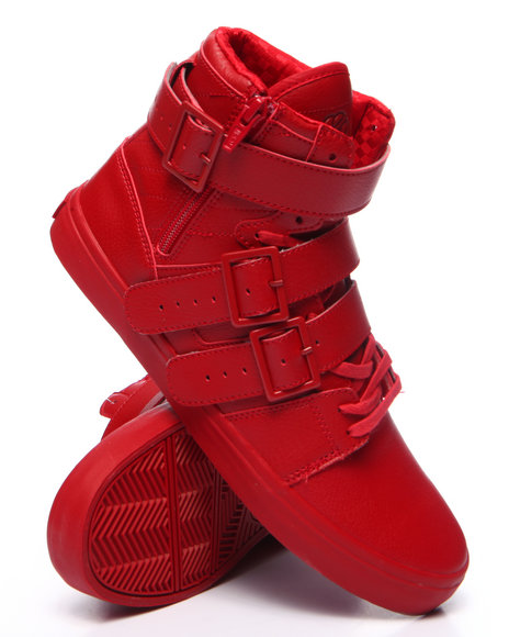 Radii Footwear - Men Red Straight Jacket Vlc Sneaker