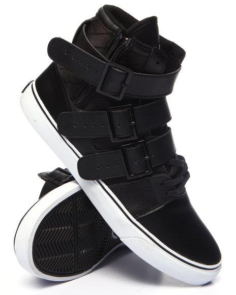 Radii Footwear - Men Black Straight Jacket Vlc Sneaker