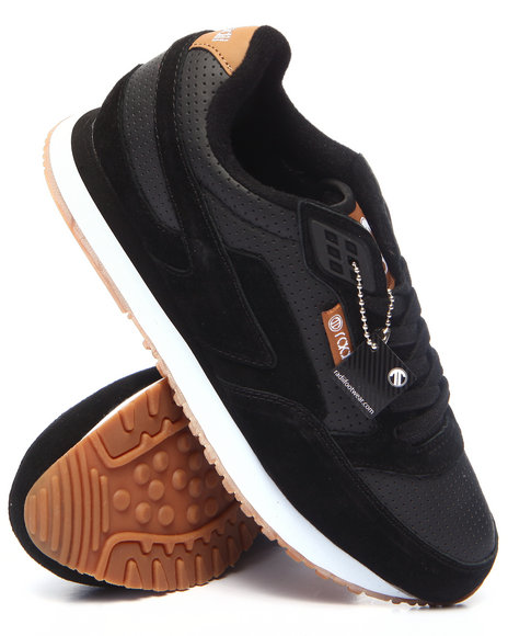Radii Footwear - Men Black Phuket Runner