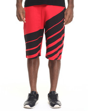 Men - Fading Stripe Shorts
