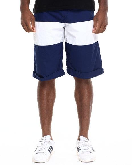 Rocawear Men Banner Shorts Navy 36