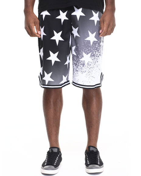 Rocawear - Men Black Washington Shooter Shorts