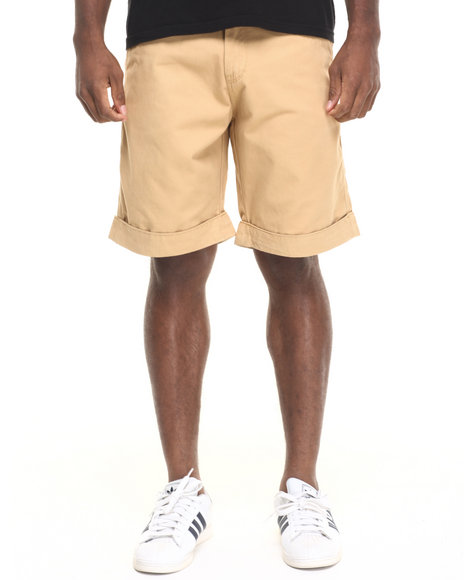 Rocawear Gold / Brown Shorts