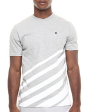 Men - Fading Stripe Tee