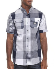 Men - Gingham Remix S/S Button-down