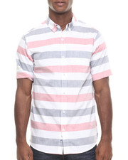 Men - Oxford Stripe S/S Button-down