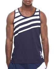 Men - Fading Stripe Tank