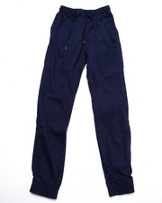 Sizes 8-20 - Big Kids - FLAT FRONT TWILL JOGGERS (8-20)