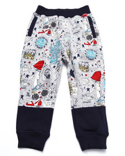 Boys - YOUNG RULERS ALL OVER PRINT JOGGERS (4-7)