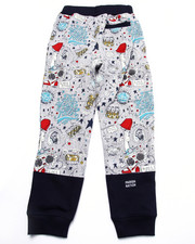 Sweatpants - YOUNG RULERS ALL OVER PRINT JOGGERS (8-20)