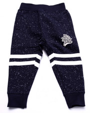 Sweatpants - SPECKLE PRINT JOGGERS (2T-4T)
