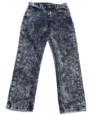 Bottoms - CRINKLE WASH JEANS (8-20)
