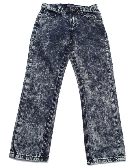 Parish - Boys Dark Wash Crinkle Wash Jeans (8-20)