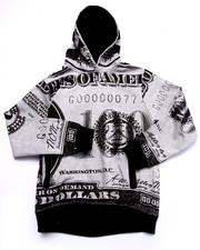 Hoodies - DEAD PRESIDENTS HOODY (8-20)