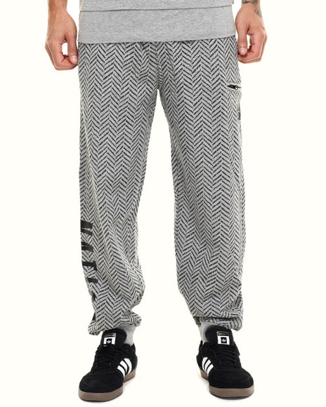 Parish - Men Grey Printed Sweatpant