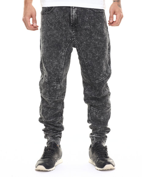 Parish - Men Black Knit Jogger