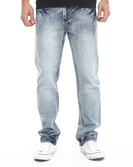 Parish - Men Light Wash Lsw Denim