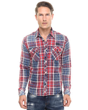 PRPS - Hydra Washed Treated Flannel Shirt