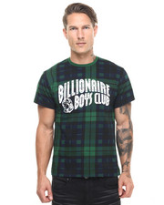 Billionaire Boys Club - ARCH Plaid Logo TEE