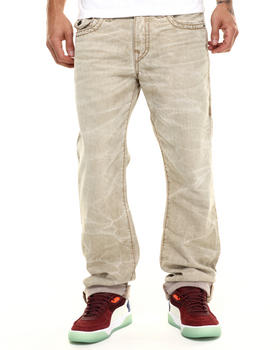 True Religion - Khaki Denim Super T Ricky Jean