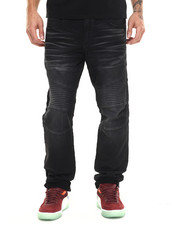 True Religion - Fleece Moto Jogger Jean