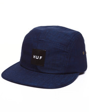 Strapback - Overdyed Chambray Volley 5-Panel Cap