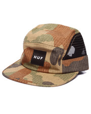 Strapback - Camo Ripstop Side Mesh Volley 5-Panel Cap