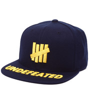 Hats - 5 Strike Undefeated Snapback Cap