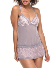 Women - Private Connection Lace Trim Babydoll