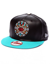 New Era - Vancouver Grizzlies Faux Leather custom 950 Snapback hat