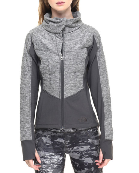 The North Face - Women Grey Women's Pseudio Moto Jacket