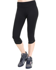 Bottoms - Fly By Compression Capri