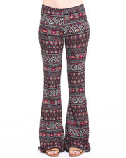 Bottoms - Amina Knit Flare Pant