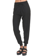Bottoms - Black Knit Jogger