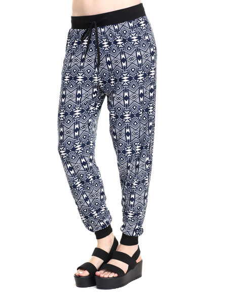 Fashion Lab - Women Beige,Black,Navy Malia Knit Jogger - $11.99