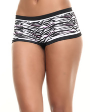 Panties - Animal Print Seamless Hipster