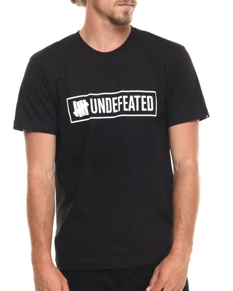 Undftd - Men Black Outline Tee