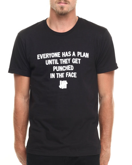 Undftd - Men Black Plan Tee