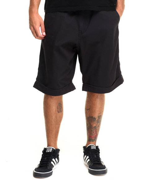 Rocawear - Men Black Volume Twill Shorts