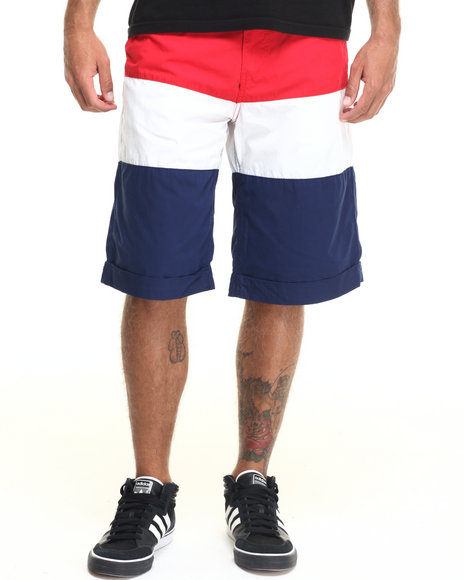 Rocawear - Men Red Banner Shorts