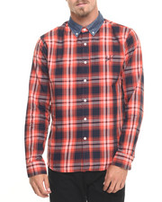 HUF - Classic Plaid L/S Button-down