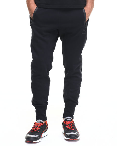 Puma - Men Black Evo Sweatpants
