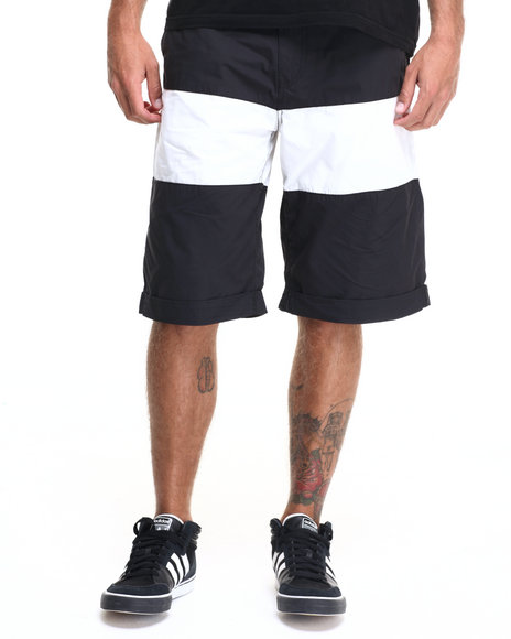 Rocawear - Men Black Banner Shorts