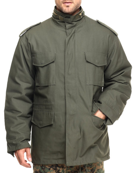 Rothco - Men Olive Drab Rothco M-65 Field Jacket