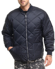 Men - Rothco Diamond Nylon Quilted Flight Jacket