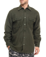DRJ Army/Navy Shop - Rothco Heavy Weight Solid Flannel Shirt